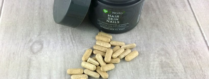 Produkttest Hair skin Nails von It Works