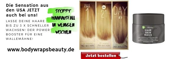 Haarausfall bekämpfen mit Hair Skin Nails