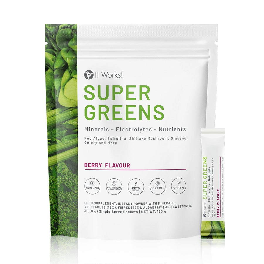 It Works Super Greens Erfahrungen